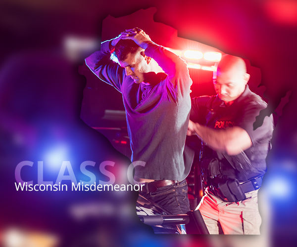 Penalties for Class C misdemeanor in WI